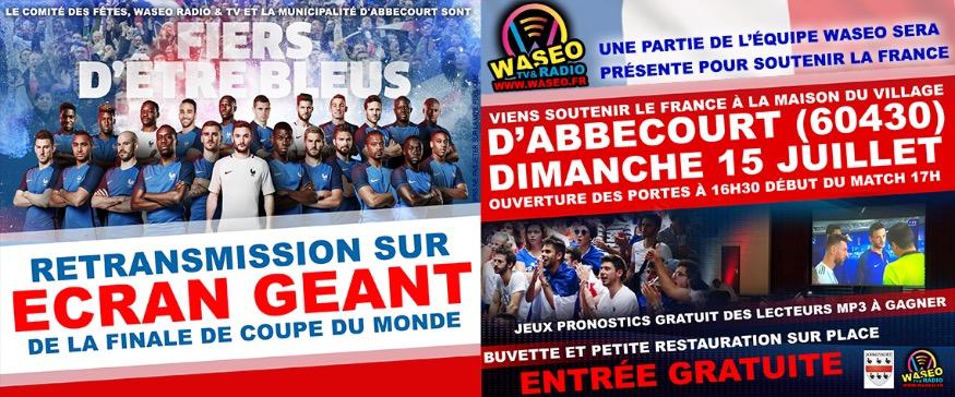 WASEO SOUTIENT LA FRANCE à Abbecourt - WASEO RADIO TV | OISE ...